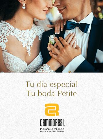 Boda Petitie - Camino Real Polanco Mexico