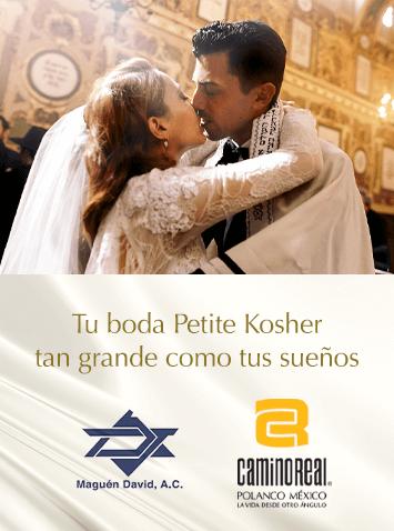 Boda Kosher - Camino Real Polanco Mexico